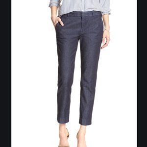 BANANA REPUBLIC Avery Denim Tailored Ankle Pant